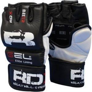Боевые, профессиональные перчатки для ММА смешанных единоборств ММА.
